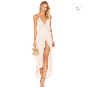 💐 NWT ASTR Isabella Blush Pink Maxi Dress S